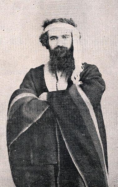 Archivo:Antoine de Tounens vestido de Mapuche.jpg