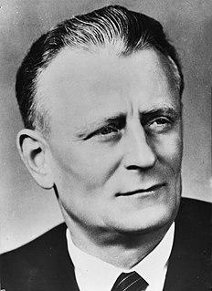 Antonín Novotný Czech politician, president of Czechoslovakia