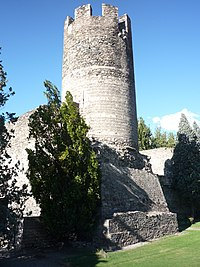 Aosta - Tower of Bramafam Castle.jpg