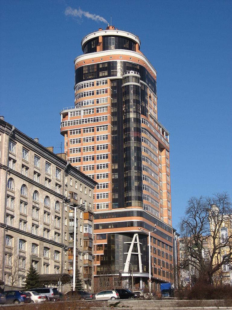 File:Apartment building in Kiev 02.jpg - Wikimedia Commons