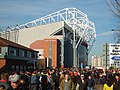 Approach to Old Trafford football ground.jpg