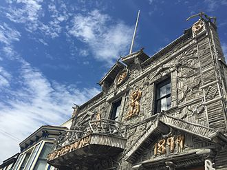 Skagway Historic District and White Pass - Arctic Brotherhood Hall