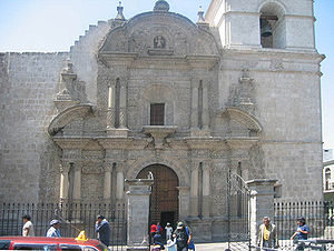 Andean Baroque - Church of la Compañía, Arequipa