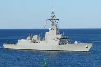 FFG(X) - Image: Armada Española F105 Cristóbal Colón