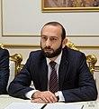 Armenian Speaker Ararat Mirzoyan, Yerevan, 25 November 2019.jpg
