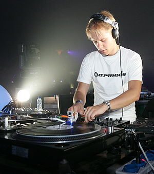 Armin van Buuren - Van Buuren at Sensation White 2005.