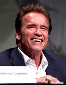 Arnold Schwarzenegger, interprete di Mr. Freeze nel film Batman & Robin