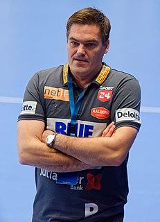 Aron Kristjánsson Icelandic handball player