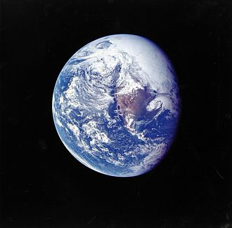 Apollo 16 - Earth from Apollo 16 during the trans-lunar coast