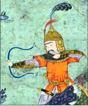 Ashkbous - Ashkbous in the Shahnameh of Shah Tahmasp