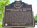 Ashtabula Train Disaster Marker.JPG