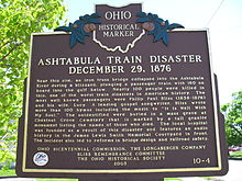 Ashtabula River Railroad Disaster - Wikipedia, the free encyclopedia