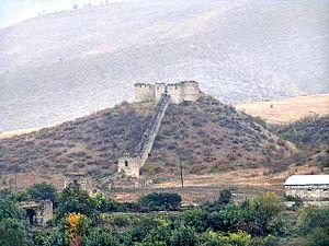 Askeran Fortress - Image: Askeran Fortress (increased contrast)