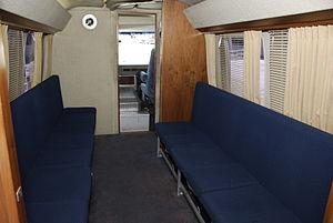 Astronaut transfer van - Image: Astrovan interior