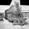 Atchison, Topeka, and Santa Fe, Locomotive No. 1100 with Tender (15735451266).jpg