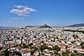 Athens and Mount Lycabettus from the Acropolis on August 6, 2019.jpg