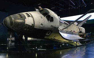 Kennedy Space Center Visitor Complex - Atlantis display