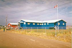 Attawapiskat First Nation Office in Attawapiskat, Ontario, Canada.jpg