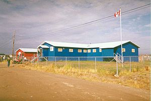Attawapiskat First Nation - Attawapiskat First Nation Office 1990s