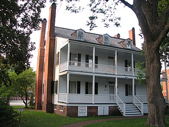National Register of Historic Places listings in Craven County, North Carolina - Image: Attmore Oliver House