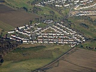 Auchinloch village in United Kingdom