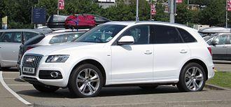 Audi Q5 - 2012 facelift