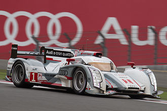 Benoît Tréluyer - Tréluyer driving the Audi R18 R18 e-tron quattro at the 2012 6 Hours of Fuji