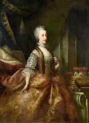Johann Gottfried Auerbach - Portrait of Amalia