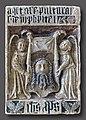 Augustins - Epitaphe de Philippe Pitei ornée de la Sainte Face du Christ - XVIe siècle RA 546 Joconde05620001804.jpg