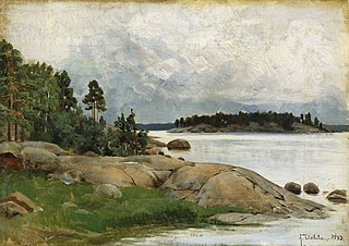 Landscape - Wiasholmen in the Pelling Islands