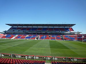 Newcastle Jets FC - Western stand of Newcastle International Sports Centre