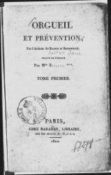Austen - Orgueil et Prevention 1.djvu