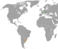 Austria Uruguay Locator.png