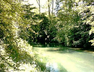 Authie (river) - The Authie at Frohen-sur-Authie