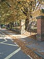 Autumn coming early outside Fairfield Infant School - geograph.org.uk - 986499.jpg