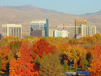 Idaho - Autumn in Boise