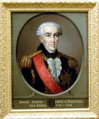 1714 in France - Aymar Joseph de Roquefeuil et du Bousquet.