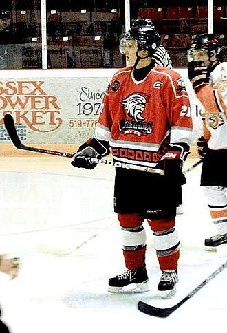 Ayr Centennials - Centennials skater in 2013.