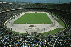 Abdol-Aziz Mirza Farmanfarmaian - Azadi Stadium in Tehran