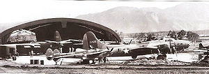 La Tontouta International Airport - Boeing B-17E Flying Fortress of the 11th Bomb Group, 43d Bomb Squadron at Tontouta in August 1942