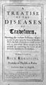 B. Ramazzini, A treatise of the diseases of tradesmen... Wellcome L0029397.jpg
