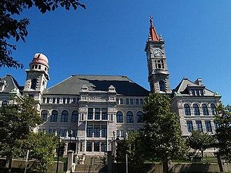 B.M.C. Durfee High School (1886 building) - Image: BMC Durfee High School