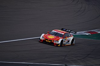 Racing Bart Mampaey - BMW M4 DTM driven by Augusto Farfus during the 2015 DTM Season.