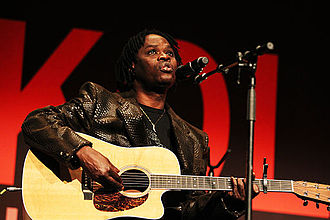 Baaba Maal - Baaba Maal performing at the Opening Plenary at the New Theatre, in March 2011