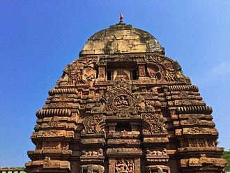 Chamunda - 8th-century ''Baitala Deula'' in Bhubaneswar, Odisha dedicated to Chamunda