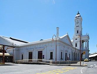 Ballarat railway station - Station front in December 2011