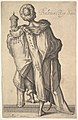 "Balthasar, after figure in ""The Adoration of the Magi"" by Jacques Bellange MET DP829677.jpg"