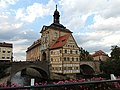 Bamberg Altes Rathaus Obere Brücke.JPG