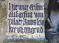Bamberger Kreuzweg Station 1 Inschrift.jpg