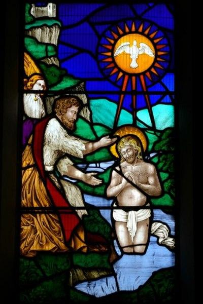 File:Baptism of Jesus - geograph.org.uk - 977356.jpg